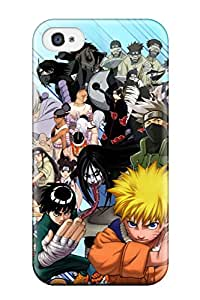 Lori Hammer's Shop Hot 1705753K96255386 Case Cover Protector Specially Made For Iphone 4/4s Naruto