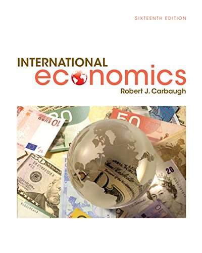 International Economics from South-Western College Pub