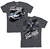 Dale Earnhardt Jr Appreci88ion Tour Schedule NASCAR T-Shirt (XXLarge)