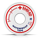 Band-Aid Brand Of First Aid Products Waterproof Tape.5Inches By 5 Yards (Pack of 6)