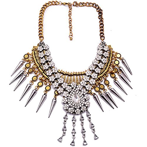 [Elegant Lady Vintage India Crystal Fashion Jewelry Hot Sale Charm Necklace Mothers Day] (Costumes Jewelry Online)