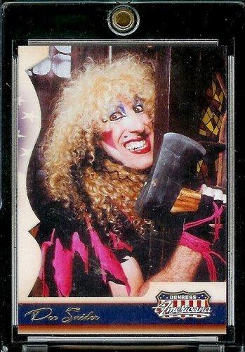 2007 Donruss Americana Retail # 51 Dee Snider - Musician - Song Writer - Entertainment Trading Card from Donruss
