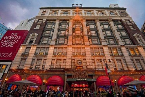 Macy's Department Store, Manhattan, New York City, New York, USA Giclee Art Print Poster or - City New York Store Macys