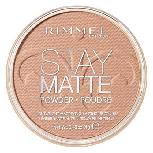 (Rimmel Stay Matte Pressed Powder, Creamy Beige)
