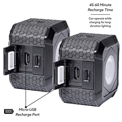 Lume Cube AIR - LED Light for Photo, Video, and Content Creation - Portable, Durable, Waterproof (Two Pack) by LUME CUBE (Image #2)