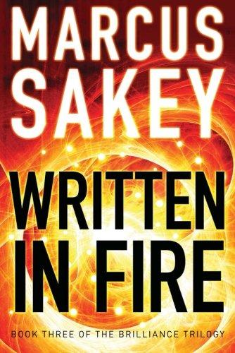 Written in Fire (The Dazzle Trilogy)