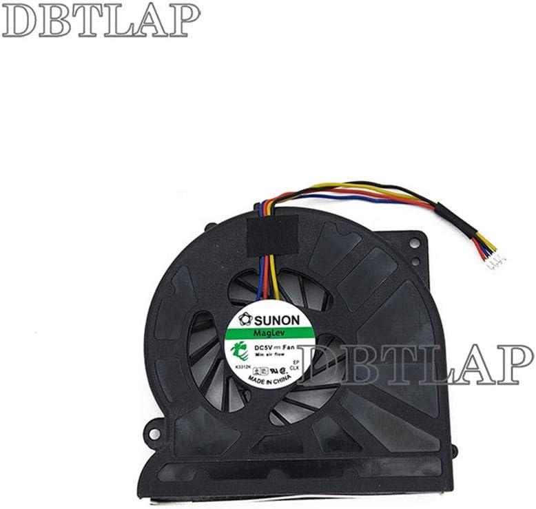 DBTLAP Laptop CPU Fan Compatible for Asus KSB06105HB X52F N61JA N61Vn K52JU K52JR K52JT K52DR K52JK K52DE CPU Cooling Fan 4 PIN