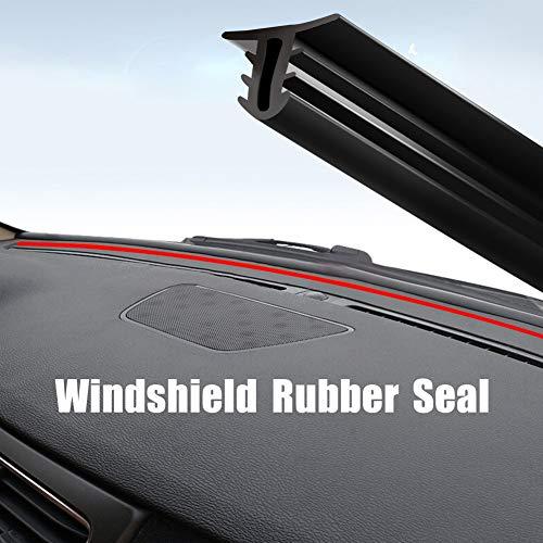 (HOTSYSTEM Windshield Sealing Strip Window Dashboard Rubber Gasket,Soundproof Noiseproof for Car,Truck,SUV(60in,2-Year-Warranty) )