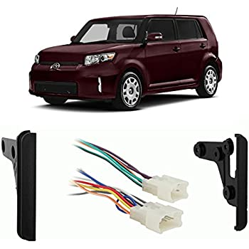 scion xb 2004 2015 double din aftermarket stereo harness radio install dash kit 2004 Hummer H2 Radio