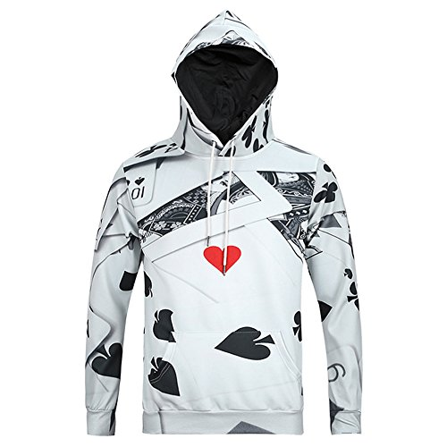 Autumn and Winter New Men 's Leisure Printing Jacket(Black) - 2