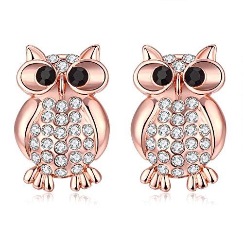 Western Style Earrings Rose Gold Earrings, Ladies Earrings