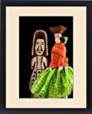 Framed Print of Mexico, State of Chihuahua, Copper Canyon.Tarahumara Indian handicrafts