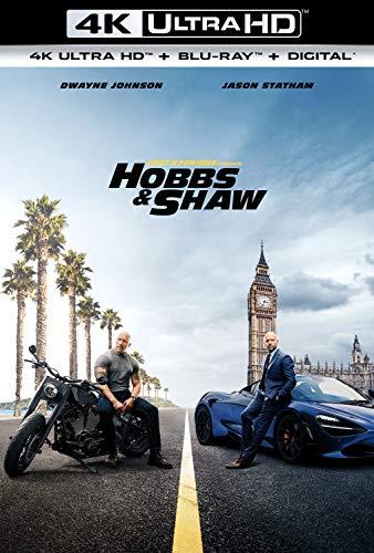 Fast & Furious Presents: Hobbs & Shaw [4K Ultra HD + Blu-ray + Digital] (Bilingual)