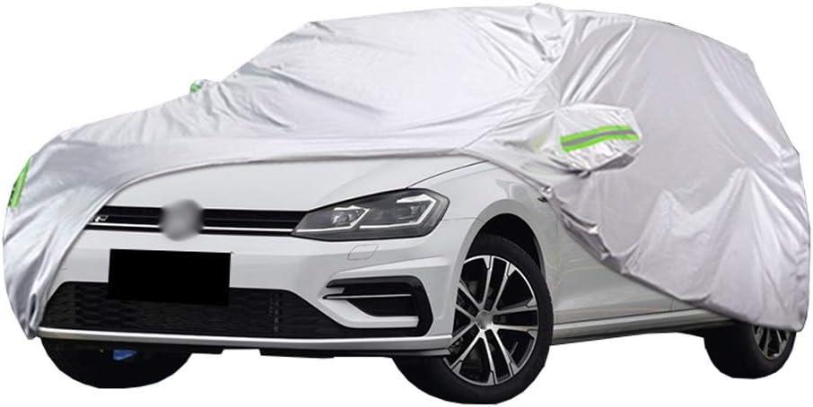 Cubierta para coche Compatible con Volkswagen golf GTI 2.0 de 3 puertas / 5 puertas Cubierta protectora En interiores y exteriores Cubierta del carrocería lona alquitranada Espesar Impermeable Anti-UV