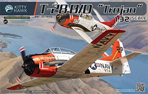 Kitty Hawk KTH32014 1:32 T-28B T-28D Trojan [Model Building ()