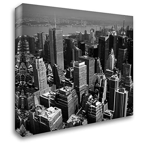 Manhattan to Brooklyn 53x53 Extra Large Gallery Wrapped Stretched Canvas Art by Craig, Jordan