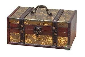 Amazoncom VintiquewiseTM Decorative Storage Box 9 by 6 by 4