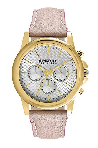 Sperry Top-Sider Men's 10015149 Halyard Analog Display Japanese Quartz Beige Watch