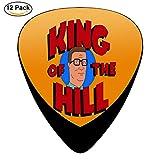 King of Hank the Hill Guitar Picks Plectrum Electric Acoustic Guitar Bass Celluloid Pick Set