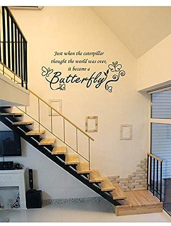 Abnehmbare Kunst Abziehbild Aufkleber Wand Dekor Wand Zitat,Wandaufkleber  Liebe Sprichwort Romantische Schlafzimmer Bedside Aufkleber