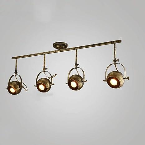 ▷ Retro Luz de techo industrial Lámpara de pared Tienda de ...