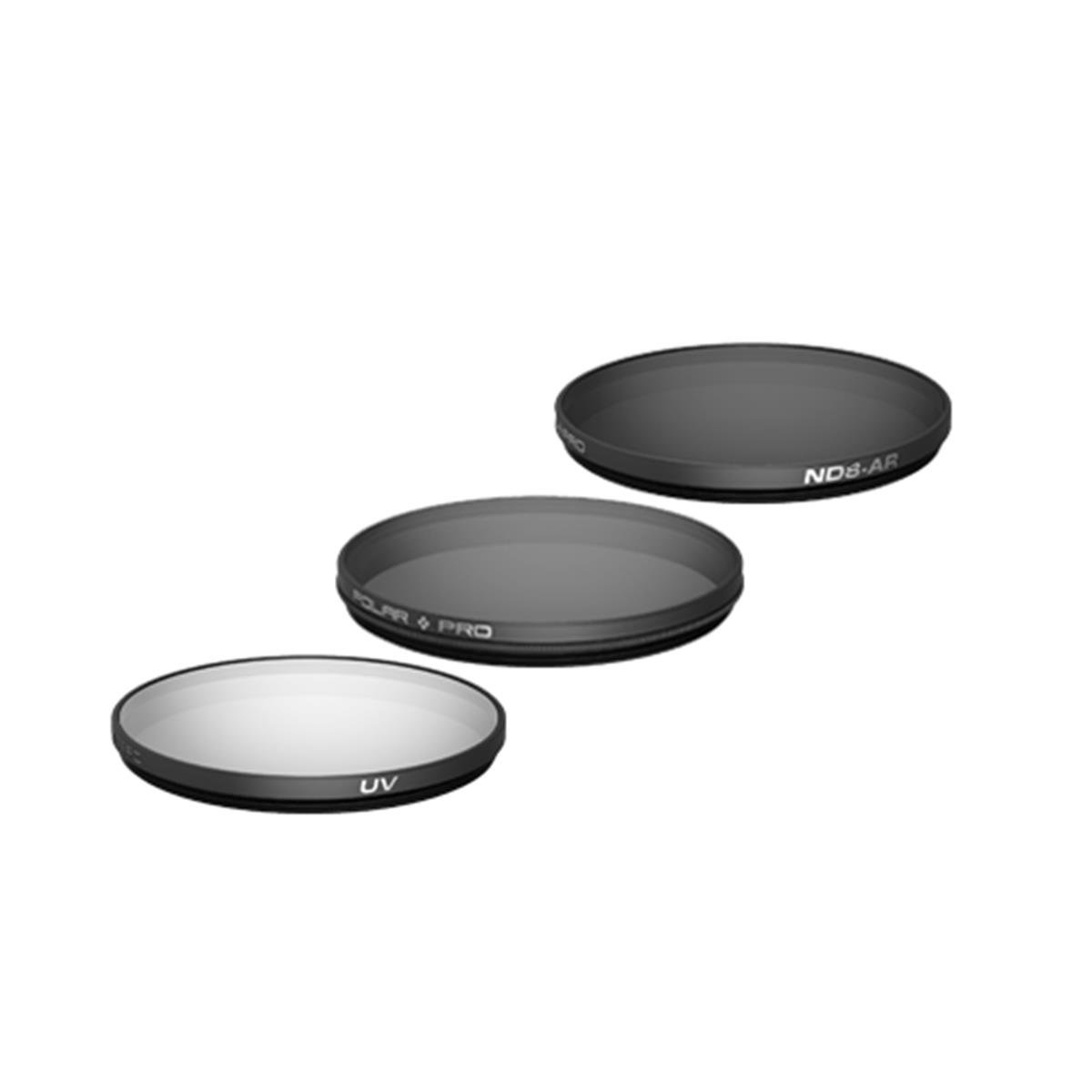 Polarpro Filter 3-Pack (CP, ND8, ND16) for DJI Inspire 2 X7 / X5S / X5 by PolarPro
