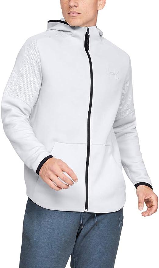 Under Armour M/ädchen Level Up Full Zip Jacket Sweatshirt mit Rei/ßverschluss