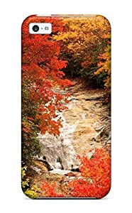 Alicia Russo Lilith's Shop New Style 7353595K90192368 Faddish Colorful Forest Case Cover For Iphone 5c