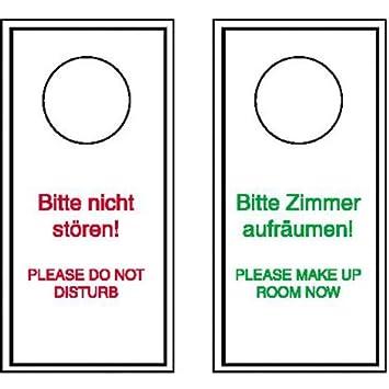 wolk - Cartel para colgar en la puerta de no molesten o ...