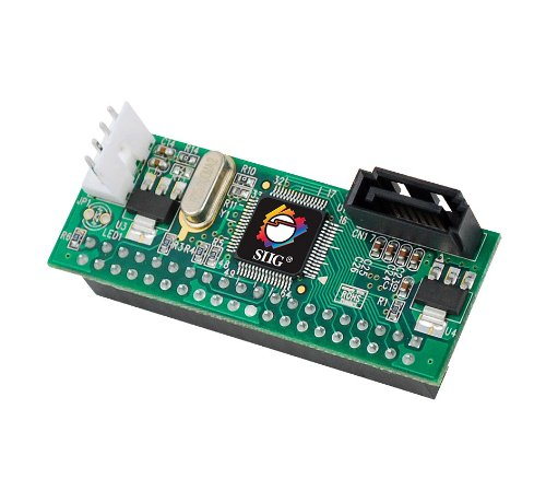 SIIG SATA-to-IDE Adapter (SC-SA0Q12-S1)