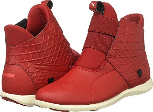 PUMA Women's SF Ankle Boot Sneaker, Chili Pepper-Chili Pepper-Whisper White, 6.5 M US