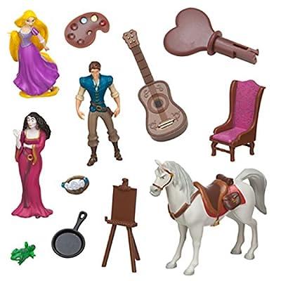 Disney Parks Rapunzel Tangled Tree House Playset Dollhouse: Toys & Games