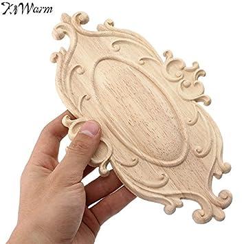 Madera tallada diseño de rosas talla de madera armario de pared ...
