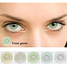 Dickin Multi-Color Cute Contact Lenses Color Blends Cosplay Eyes Cosmetic Makeup Eye Shadow (1 Pair)