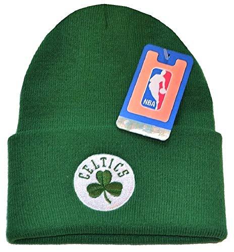 - Boston Celtics Shamrock NEW Authentic Beanie Toque Knit Hat