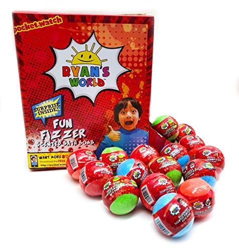 World Fun Fizzer Scented Bath Bombs with Surprise Inside (16 Bath Bombs) ()