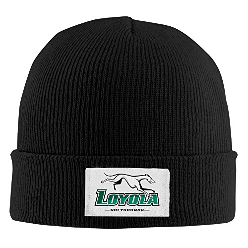 loyola-md-greyhounds-unisex-fashion-black-flexible-wool-winter-kniting-hat-one-size