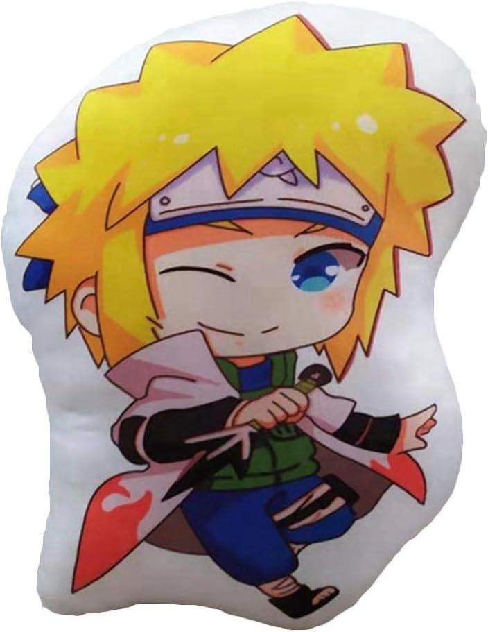 Namikaze Minato Kissen Anime Figur Dekoration f/ür Fans Green Kissen Uzumaki Naruto Dacitiery Naruto Pl/üschtier Pl/üschpuppen 45cm