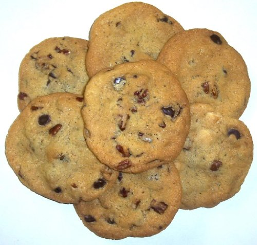 (Scott's Cakes Chocolate Chip Cookies with Pecans in a 1 Pound White Bakery Box)
