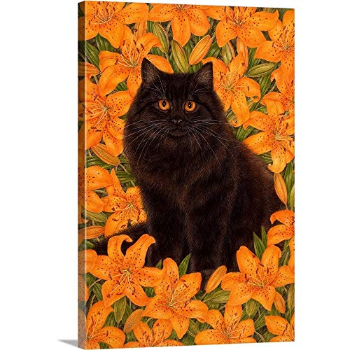 """Iris Canvas Wall Art Print, 24""""x36""""x1.25"""""""