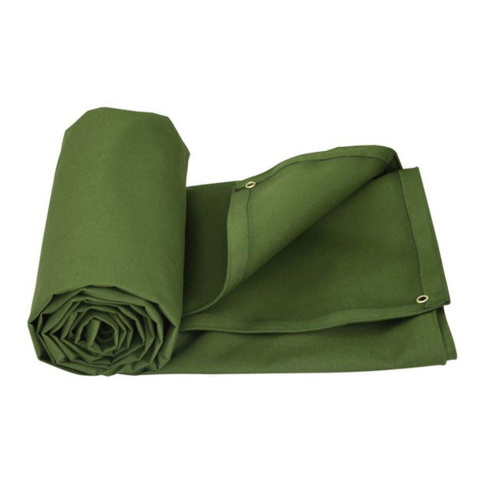 木綿の布 緑 日焼け止め布 棚の布 日を遮る布 油布 キャンバス 貨車 厚い 耐摩耗 風を防ぐ 断熱 空気を通す,600 * 400Cm B07FSZJQBN 600*400cm  600*400cm