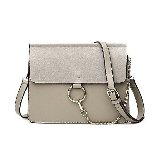 Ring Bag (Olyphy Fashion Chain Shoulder Purse Bag for Women, Designer Mini Leather Crossbody bag)