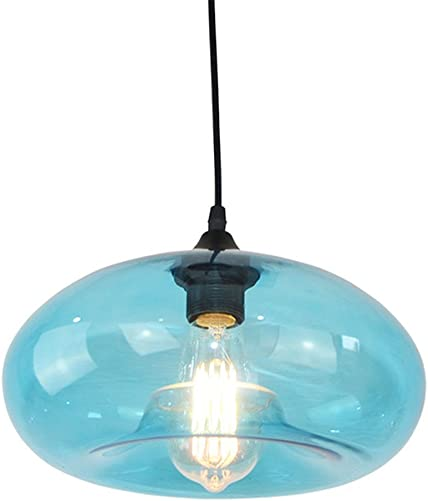 GZQ Ceiling Pendant Light Flush Mount Retro Metal Ceiling Lamp Shade Decoration for Hallway, Study Room, Office, Dining Room, Bedroom, Living Room,Coffee, Bar, Restaurant Style E
