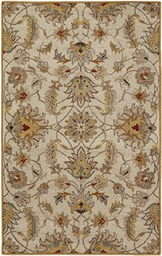 "picture of Surya CAE-1029 Caesar Classic Traditional Rectangle Gray 7'6"" x 9'6"" Area Rug"