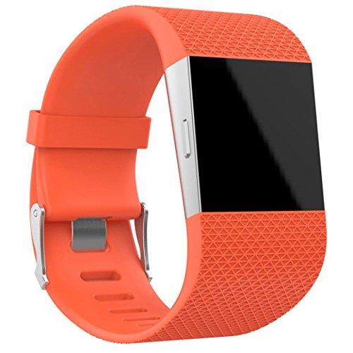 upxiang Bracelet de rechange pour Fitbit Surge, Bracelet, sans fil, crochets de repassage wölbungs Outils d'installation
