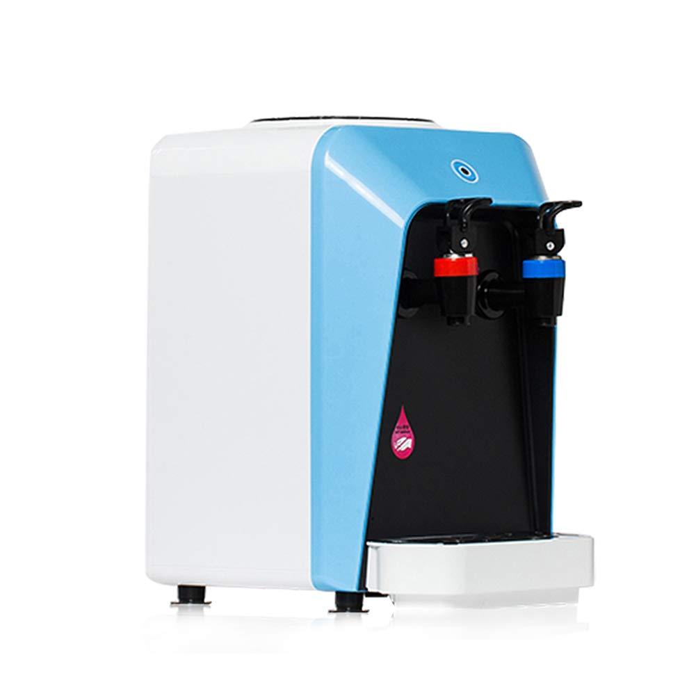 H&RB Mini Dispensador Caliente Y Frío Portable De La Agua, Máquina del Agua con El Trazador De Líneas del Acero Inoxidable, 20 * 23 * 30M M,Blue: Amazon.es: ...