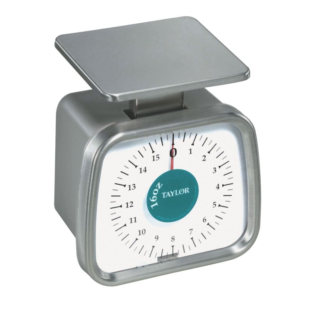 Taylor TP16 Mechanical SS Fixed Dial Portion Scale, 16 oz x 1/4 oz. by Taylor