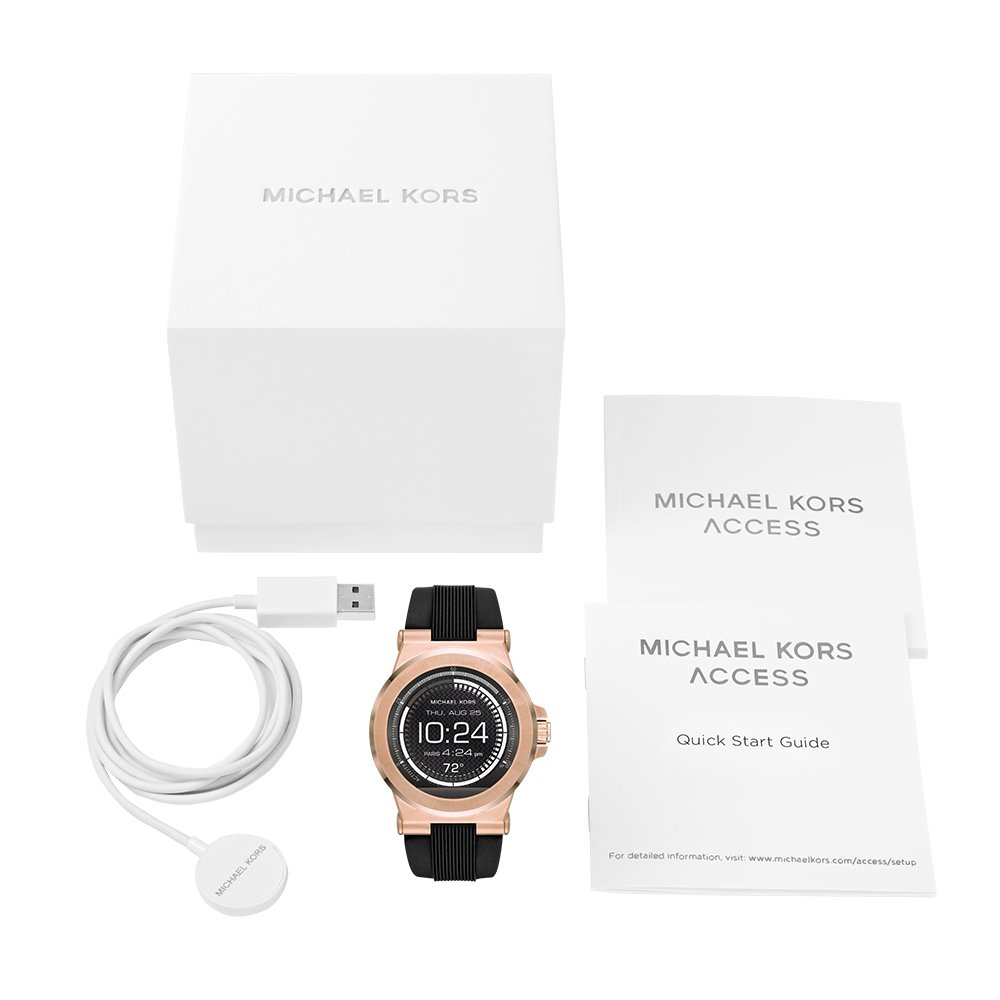 988917892a1a Buy Michael Kors Access Touch Screen Black Dylan Smartwatch MKT5010 Online  at Low Prices in India - Amazon.in
