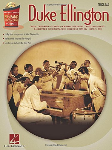 Duke Ellington Big Band Play-Along Vol.3 Tenor Sax (Ellington Three Light)
