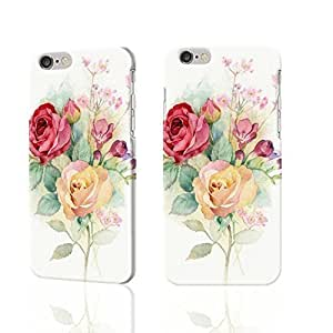 "Hand-painted roses design 3D Rough iphone Plus 6 -5.5 inches Case Skin, fashion design image custom iPhone 6 Plus - 5.5 inches , durable iphone 6 hard 3D case cover for iphone 6 (5.5""), Case New Design By Codystore"